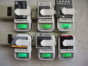 Chargeur de batterie universel - UBOC $ 15.00