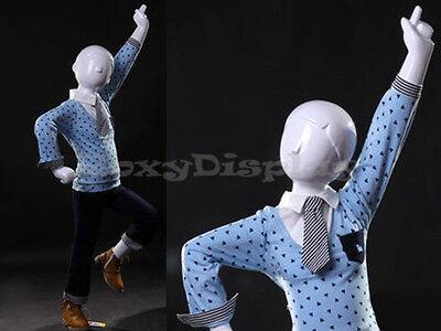 Child Fiberglass Abstract Mannequin Dress Form Display Mz-tom3