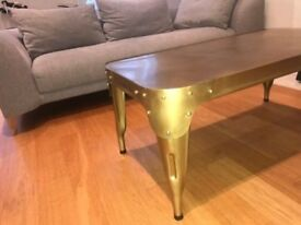 Coffee table - Safavieh Industrial Style, Gold-Bronze