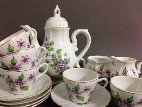 Vintage Japan Tea Set Ebay