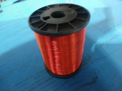 Awg 32 Copper Magnet Wire Spn 155 Red Weight 2.5 Lbs