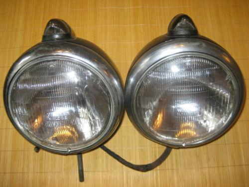 Antique Brass Car Headlights : Brass headlight ebay