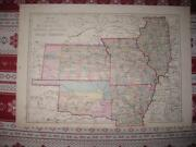 Antique Illinois Map
