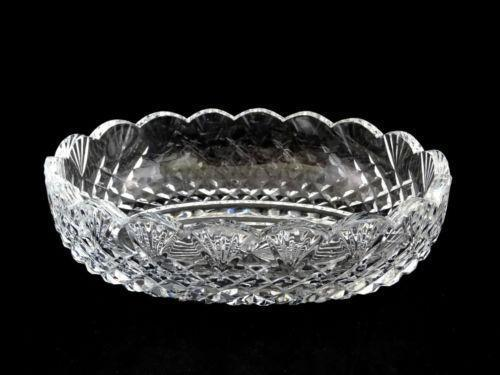 Waterford Crystal Oval Bowl Ebay
