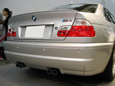 USA Painted Trunk Lip Spoiler 99-06 BMW E46 3 Series 2D Coupe Steel Gray 400 New 3 Series 2d Coupe