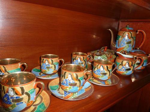 Antique Japanese Tea Set Ebay