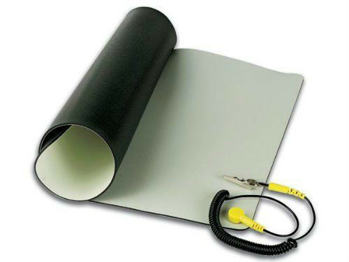 """Velleman Anti Static Mat With Ground Cord 19.7"""" X 23.6""""/AS14"""