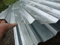 brand new 12ft long galvanized box profile roofing sheets