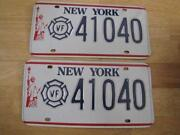 New York License Plates