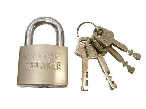 40mm Heavy Duty Padlock with 4 Security Keys LK025