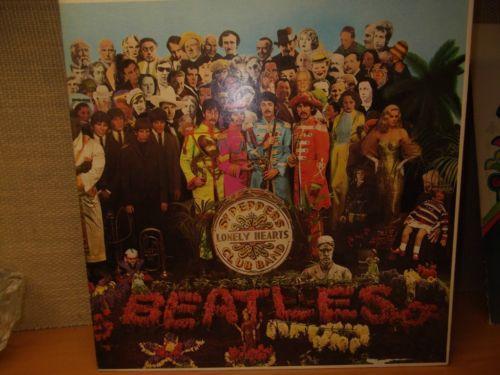 Sgt Pepper Cutouts Records Ebay