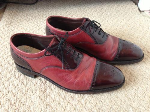 Oxblood Brogues Men S Shoes Ebay