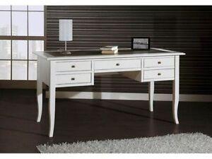 Mobile scrivania scrittoio ufficio soggiorno bianco ebay for Scrivania soggiorno