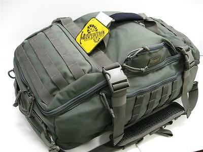 MAXPEDITION Foliage Green DOPPELDUFFEL Adventure Travel Bag Pack! 0608F