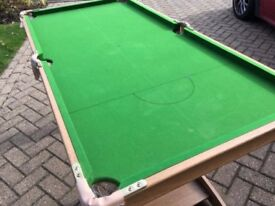 6 x 3 Foot Pool Table
