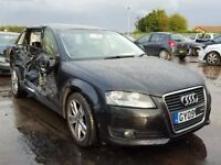 AUDI A3 FACELIFT SE S LINE 2003-2012 BREAKING SPARES TDI DOORS ALLOYS AIRBAG