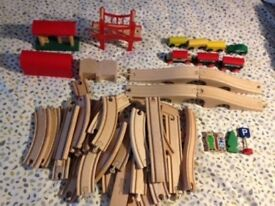 Wooden Train Set Toy ELC and Ikea