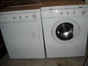 Fridgedair Front load washer and dryer set pickup today
