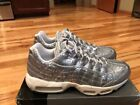 Nike Silver Nike Air Max 95 Athletic Shoes for Men