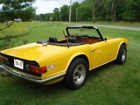 1972 TR6 Triumph - Fully Restored - Mint Condition
