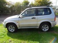 SUZUKI GRAND VITARA 4X4 3 DOOR MANUAL PETROL £42 PER WEEK