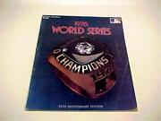 1978 World Series Program
