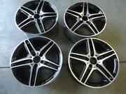 Black Mercedes Benz Wheels