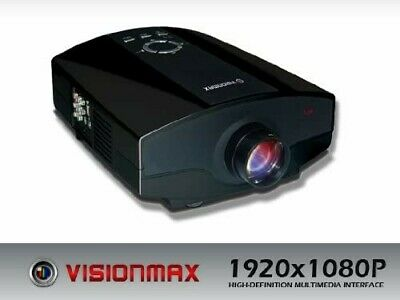 Visionmax 4k-HD Projector 1920 x 1080P wifi Home Theater 5000 Lumens HDMI