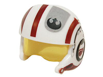 NEW LEGO - Headgear - Star Wars - Resistance Pilot X-wing Helmet White - 75102