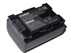 Battery 1200mAh infochip for JVC BN-VG114, BN-VG114AC, BN-VG114E