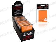 Ultra Pro Sleeves Orange