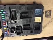 Citroen C4 Fuse Box