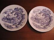 Wedgewood China Dinner Plates