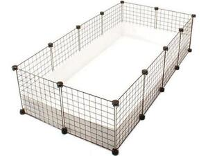 Guinea pig cage small animal supplies ebay for Coroplast guinea pig cage for sale