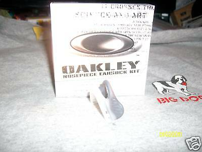 Used, NEW OAKLEY M-Frame Grey/Clear Nose Piece 2.0 ballistic 1.0 for sale  Shipping to India