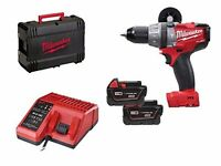 LOST Milwaukee M18CPD-302C FUEL Combi Drill With 2 x 3.0Ah Batteries
