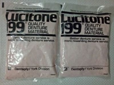 Dental Lucitone Quality Material Powder For Acrylic Denture 100g..free Ship