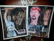 WWE Signed Photos