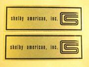 Shelby Emblem