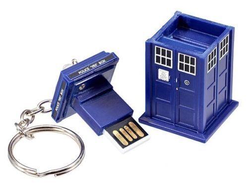 Doctor Who TARDIS 4 GB USB Flash Drive