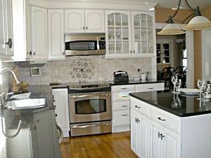 SALE! Kitchen countertop starts from $39.99/sqft on our most popular granite and quartz colors