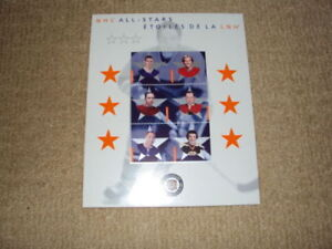 2002 CANADA POST NHL ALL-STARS, 9 STAMP SOUVENIR SHEET, LAFLEUR