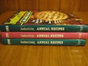 Southern Living Cookbook Lot