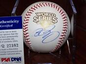 2009 World Series Ball