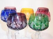 Weingläser Farbig