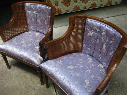 Cane Barrel Chair Ebay