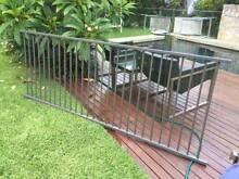 Aluminium fencing panel - powder coated Woodland Grey Willoughby Willoughby Area Preview