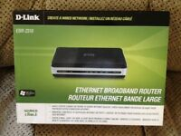 Router D-Link EBR-2310 neuf