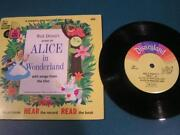 Disney Alice in Wonderland Record