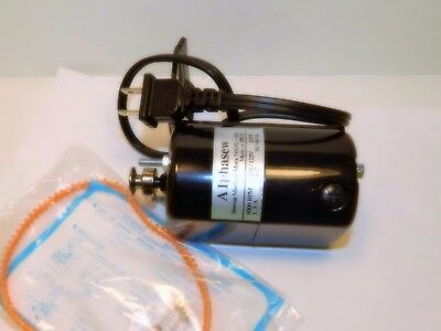 NEW ALPHASEW SEWING MACHINE MOTOR 9000 RPM L-BRACKET 1.5 AMP FITS MANY